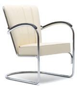 de stoffeer vakman gispen 412 stoel herstofferen restaureren