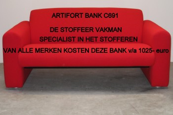 Bank Artifort bekleden
