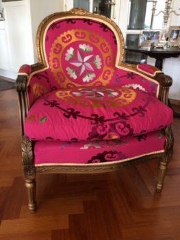 2hands retro vintage stoel bekleden
